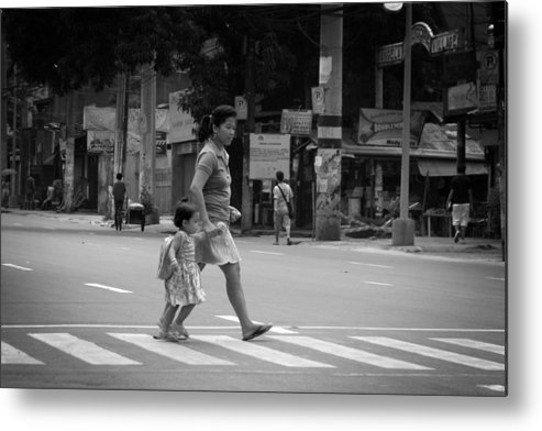 Jez C Self Metal Print featuring the photograph A Rare Break In Philippine Traffic by Jez C Self