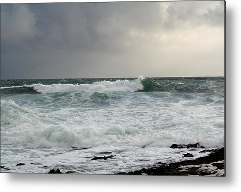 Ireland Metal Print featuring the photograph A Stormy Day In Doolin by Beverlee Singer