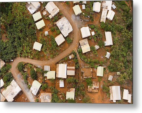 Mayotte Metal Print featuring the photograph A Typical Indigenous Village by Michael Fay