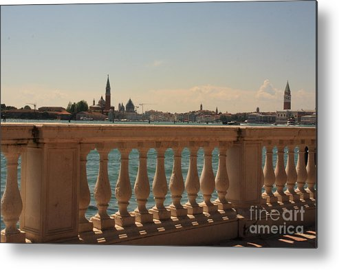 Venice Metal Print featuring the photograph A View Of Venice by Michael Henderson