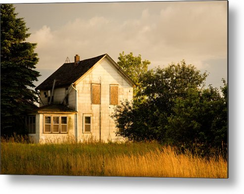 Wisconsin Metal Print featuring the photograph Abandoned..... by Carl Jackson