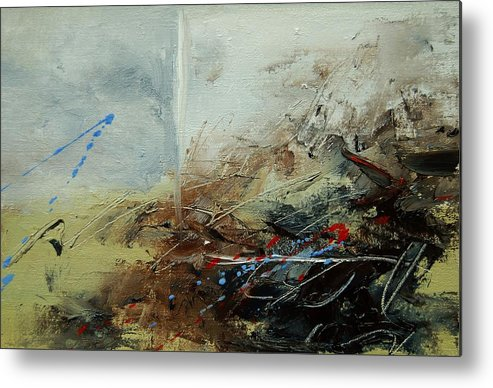 Abstract Metal Print featuring the print Abstract 070408 by Pol Ledent