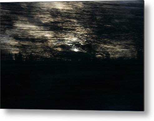 Sunset Metal Print featuring the photograph Abstract Sunset by David Resnikoff