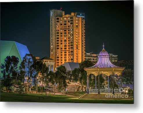 Adelaide Metal Print featuring the photograph Adelaide Riverfront by Ray Warren