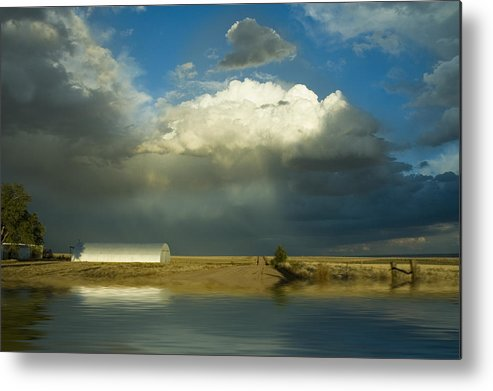 Storm Metal Print featuring the photograph After The Storm by Jerry McElroy