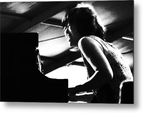 Jazz Fest Metal Print featuring the photograph ah ha Hiromi by David Fields