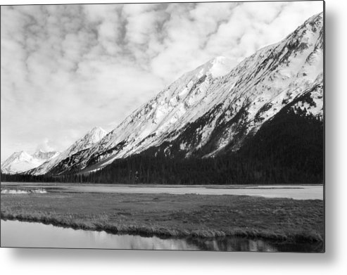 Mountains Metal Print featuring the photograph Alaska Mountains by Ty Nichols