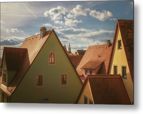 Bavaria Metal Print featuring the photograph All Aglow by Chris Fletcher