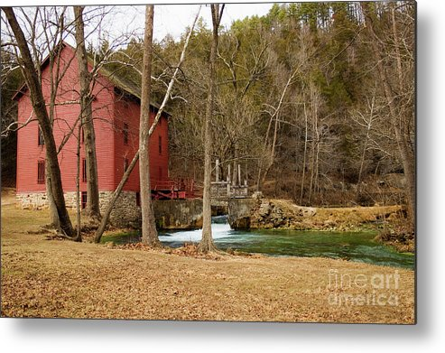 Alley Spring Metal Print featuring the photograph Alley Mill by Reva Dow