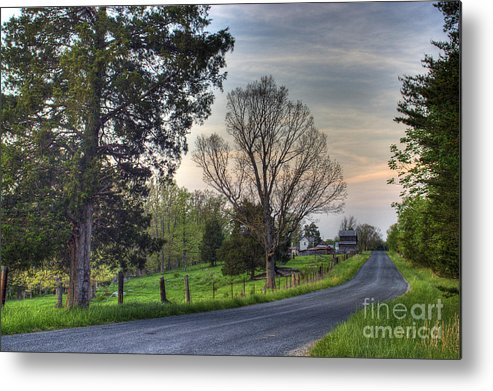 Virginia Metal Print featuring the photograph Almost Home by Pete Hellmann