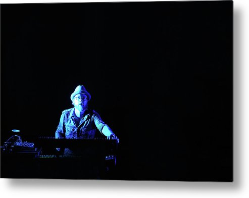 Music Metal Print featuring the photograph Alone In The Music by Don Mennig