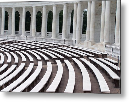 Amphitheatre Metal Print featuring the photograph Amphitheatre by Vijay Sharon Govender