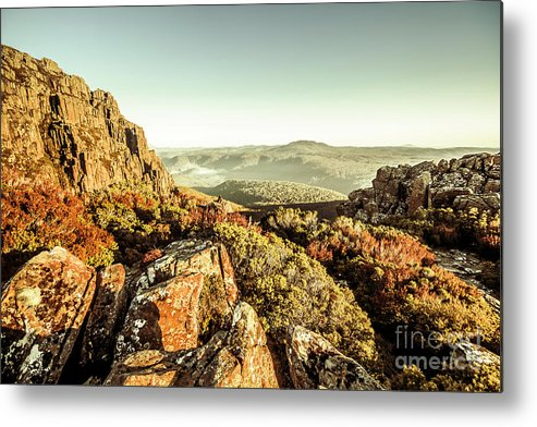 Mountain Metal Print featuring the photograph An Alpine Morning by Jorgo Photography - Wall Art Gallery