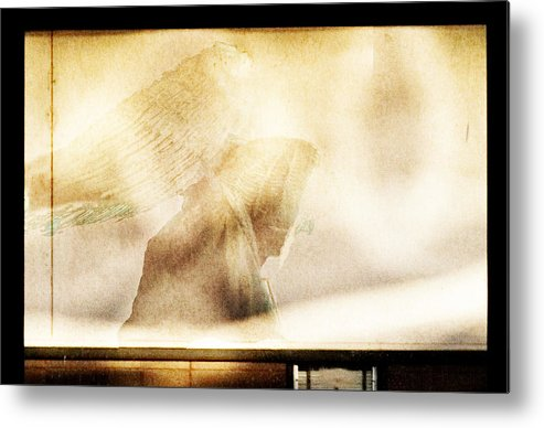 Digital Photography Metal Print featuring the photograph Angel I by Tony Wood