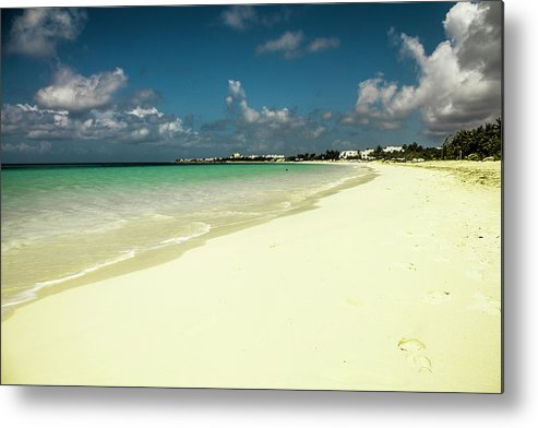 Beach Metal Print featuring the photograph Anguilla - Beach by Isabella Biava