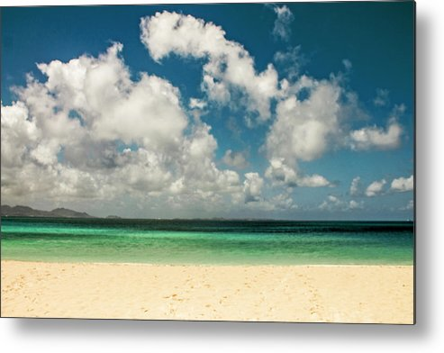 Beach Metal Print featuring the photograph Anguilla - Another Spectacular Beach by Isabella Biava