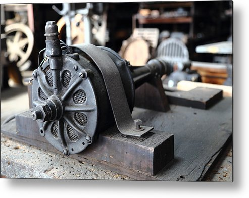Electric Metal Print featuring the photograph Antique Electric by Pat Williams