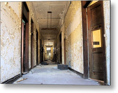 Abandonment Metal Print featuring the photograph Anxiety by Kevin Brett