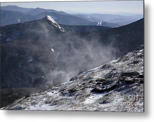 Franconia Ridge Metal Print featuring the photograph Appalachian Trail - Franconia Ridge-white Mountains New Hampshire by Erin Paul Donovan