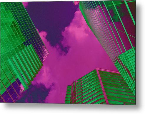 Built Structure Metal Print featuring the photograph Architectural Abstract by Craig McCausland