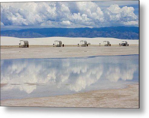 New Mexico Metal Print featuring the photograph Armageddon Picnic by Skip Hunt