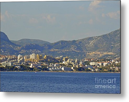Split Croatia Metal Print featuring the photograph Arriving To Split by Elaine Berger