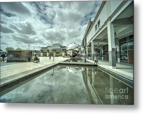 Bristol Metal Print featuring the photograph at Bristol by Rob Hawkins