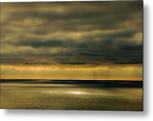 Stormy Sky Metal Print featuring the photograph Auburn Sky by Rose Webber Hawke