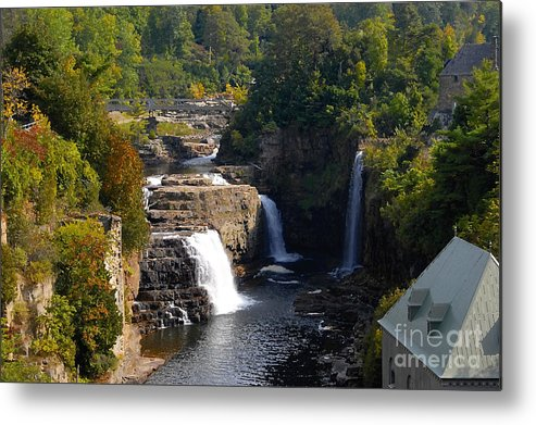 Ausable River Metal Print featuring the photograph Ausable Falls by David Lee Thompson