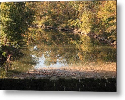Landscape Metal Print featuring the photograph Autumn Afternoon by Lone Dakota Photography