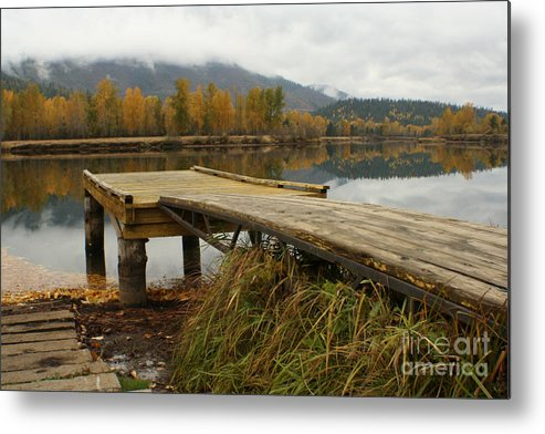 River Metal Print featuring the photograph Autumn On The River by Idaho Scenic Images Linda Lantzy