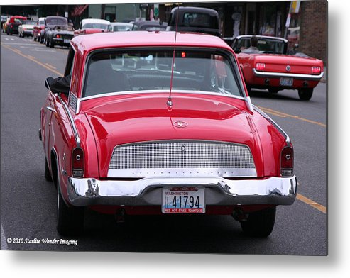 Starlite Metal Print featuring the photograph Avanti Getting In Line by Diane Jacobson