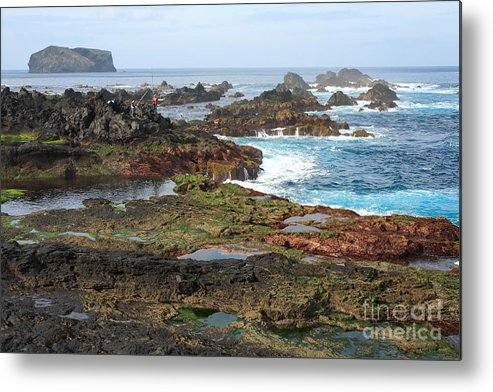 Atlantic Metal Print featuring the photograph Azores Seascape by Gaspar Avila