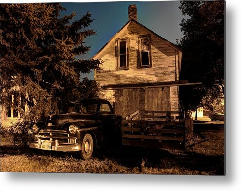 Metal Print featuring the photograph Back Home by David Matthews