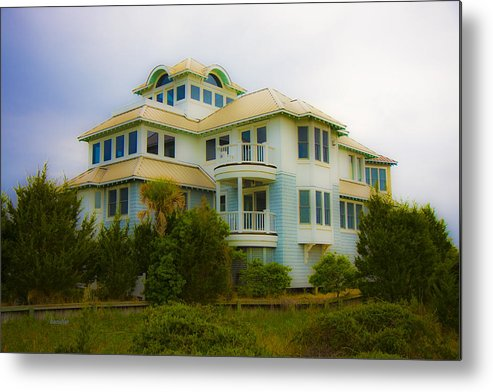 Bald Metal Print featuring the photograph Seaside Getaway by Betsy Knapp