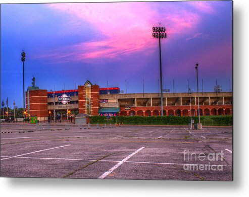Baseball Metal Print featuring the photograph Ball Park by Travis Helm