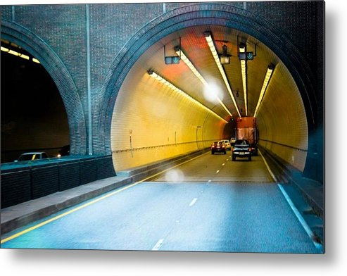 Tunnel Metal Print featuring the photograph Bankhead Tunnel by Tanya Garner