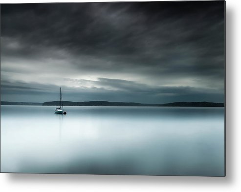 Storm Metal Print featuring the photograph Batten Down The Hatches by Ryan Manuel
