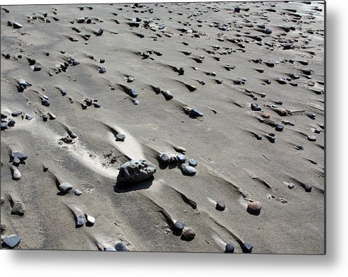 Beach Metal Print featuring the photograph Beach Rocks 2 by Joanne Coyle