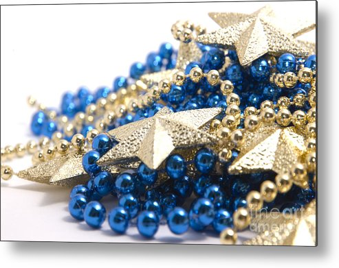 Stars Metal Print featuring the photograph Beads And Stars by Andy Smy