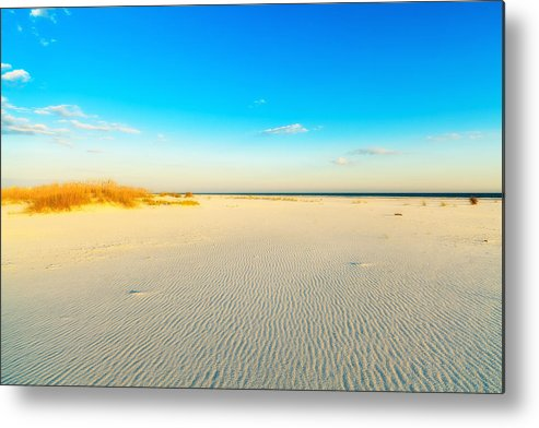 Florida Metal Print featuring the photograph Beautiful Beach by Raul Rodriguez