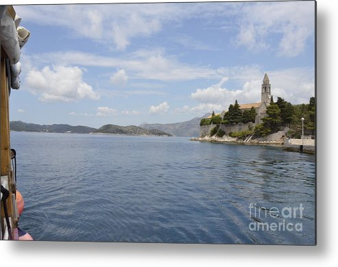 Dubrovnik Metal Print featuring the photograph Beautiful Dubrovnik by Elaine Berger