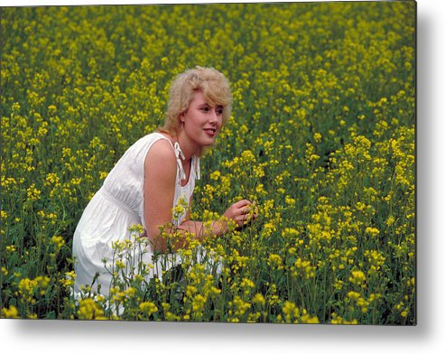 Beautniful Metal Print featuring the photograph Beauty In Finland by Carl Purcell
