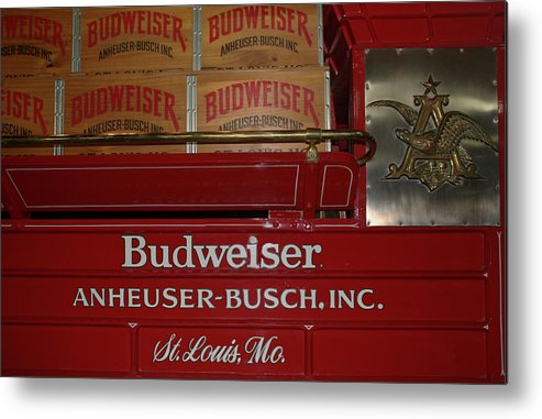 Beer Metal Print featuring the photograph Beer Wagon by Larry Small