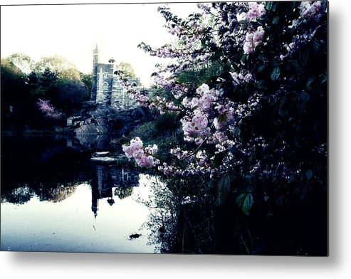 New York Metal Print featuring the photograph Belvedere Castle by Ariane Moshayedi