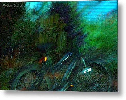 Clay Metal Print featuring the photograph Bicycle by Clayton Bruster