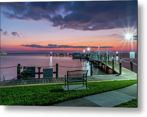 Sunset Metal Print featuring the photograph Blue Hour At Cape Shores by Robert Langdon