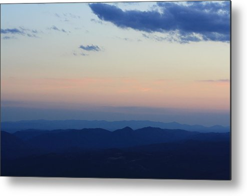 Sunset Metal Print featuring the photograph Blue Ridge Parkway Sunset II by Pamela Smith