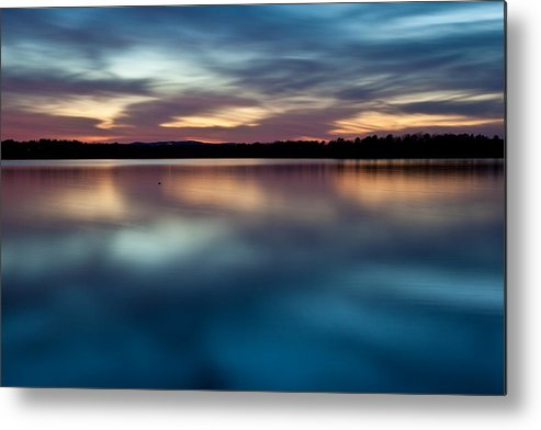 Arkansas Metal Print featuring the photograph Blue Skies Of Reflection by Jonas Wingfield