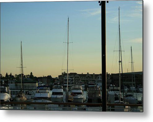 Boat Metal Print featuring the photograph Boat Harbor by Joshua Sunday